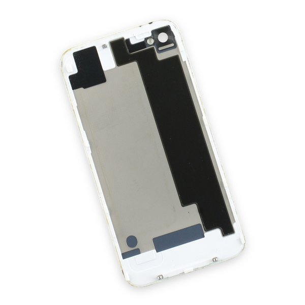iPhone 4S Used OEM Rear Glass Panel / White / B-Stock