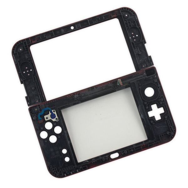 Nintendo 3DS XL (2015) Midframe & Digitizer / Black / A-Stock