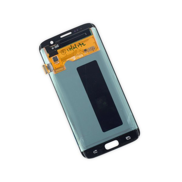 Galaxy S7 Edge LCD Screen and Digitizer / Silver / Part Only