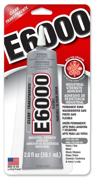 E6000 Adhesive Glue / 59.1 mL