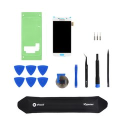 Galaxy S6 Screen and Digitizer / New / White / Fix Kit
