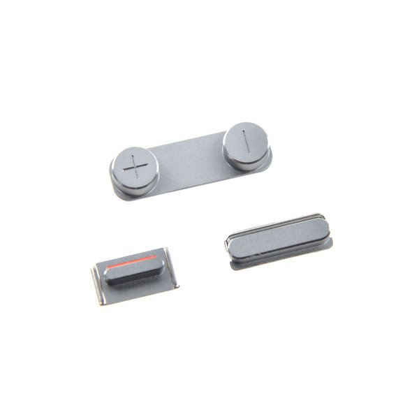 iPhone 5s/SE Case Button Set / Silver