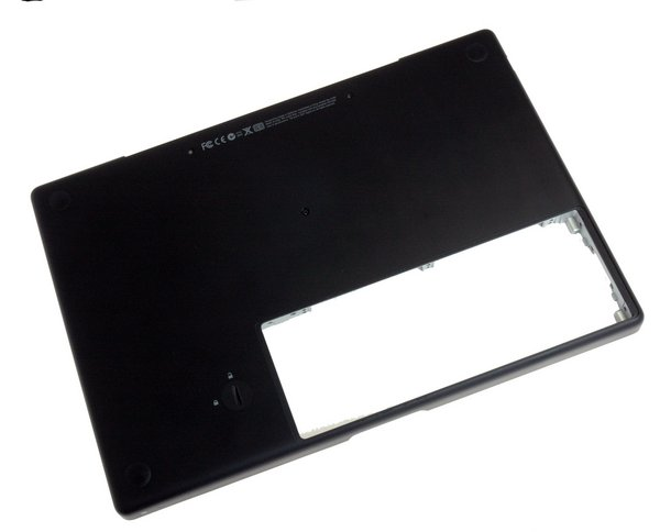 MacBook Santa Rosa/Penryn Lower Case / Black / A-Stock