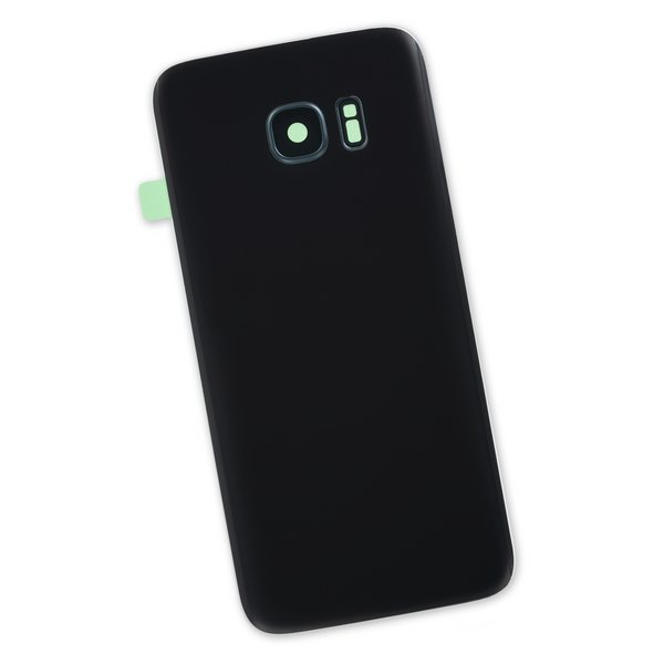 Galaxy S7 Edge Rear Panel/Cover / Black / Part Only
