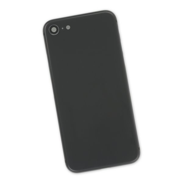 iPhone 8 Aftermarket Blank Rear Case / Black