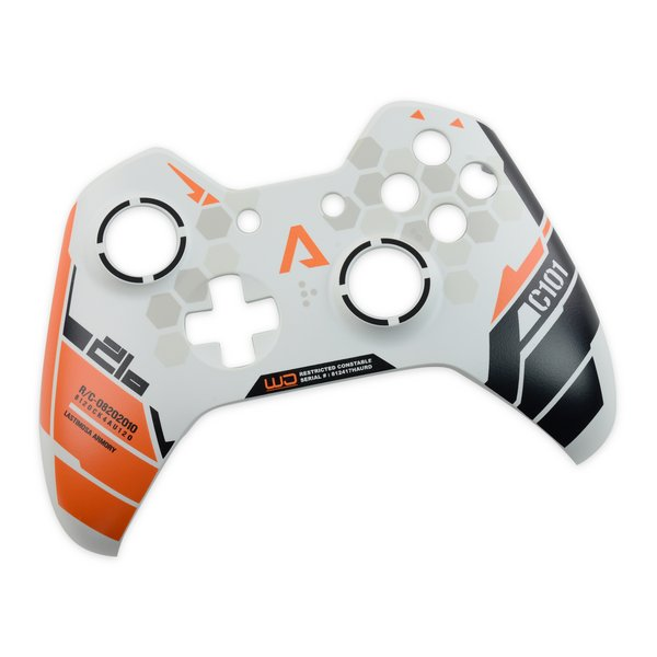 Xbox One Controller (1537 and 1697) Front Panel / White / Titanfall / A-Stock