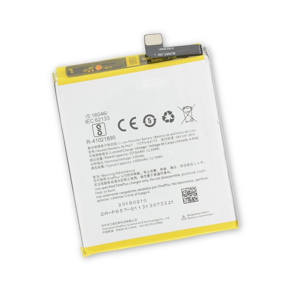 OnePlus 6 Replacement Battery / Part Only