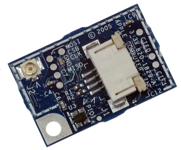 "MacBook Pro 17"" (Models A1151/A1212/A1229) Bluetooth Board"