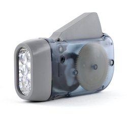 Dynamo Powered LED Flashlight