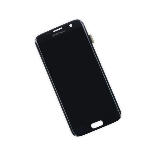 Galaxy S7 Edge LCD Screen and Digitizer / Black / Part Only