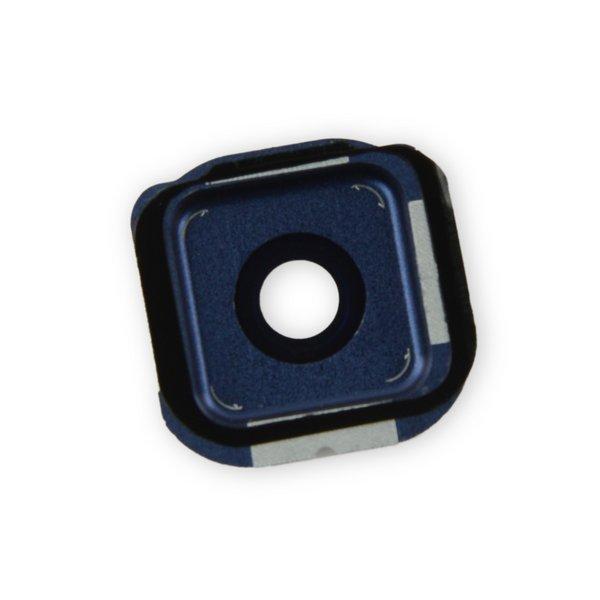 Galaxy S6 Edge Rear Camera Bezel & Lens Cover / New / Black