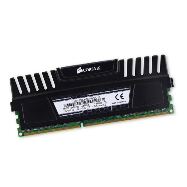 Corsair PC3-12800 (Desktop) 8 GB RAM DIMM Chip