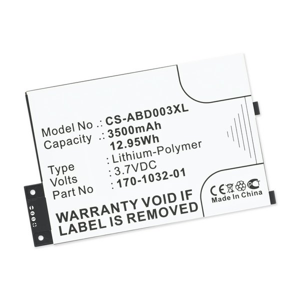 Kindle 3 Replacement Battery