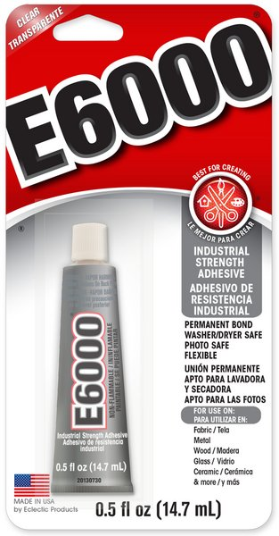 E6000 Adhesive Glue / 14.7 mL