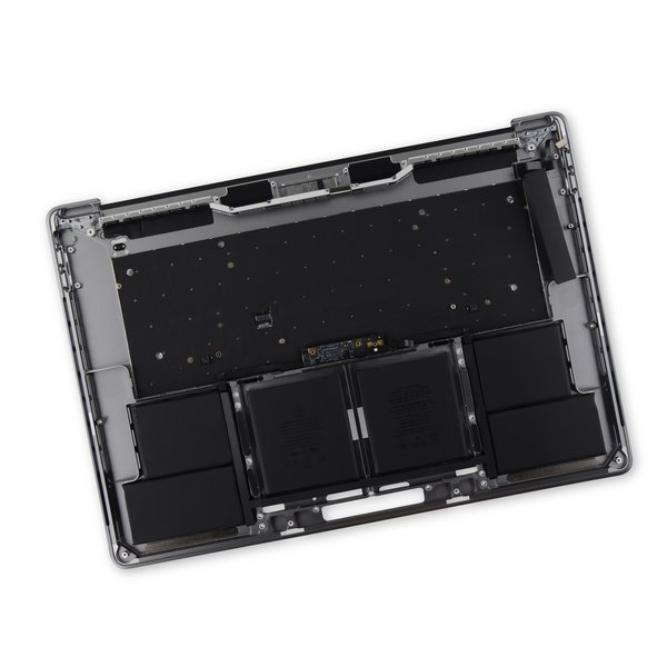 """MacBook Pro 15"""" Retina (Late 2016-2017) Upper Case Assembly / A-Stock / Gray"""