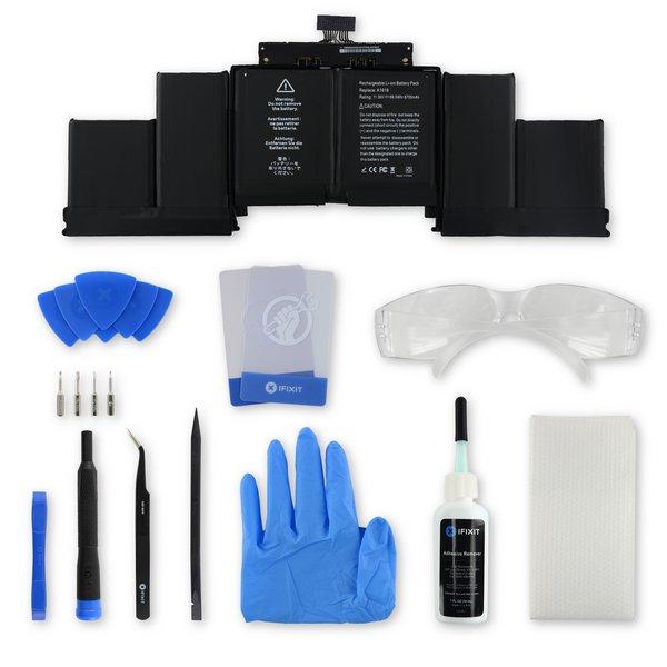 """MacBook Pro 15"""" Retina (Mid 2015) Battery / New / Fix Kit"""