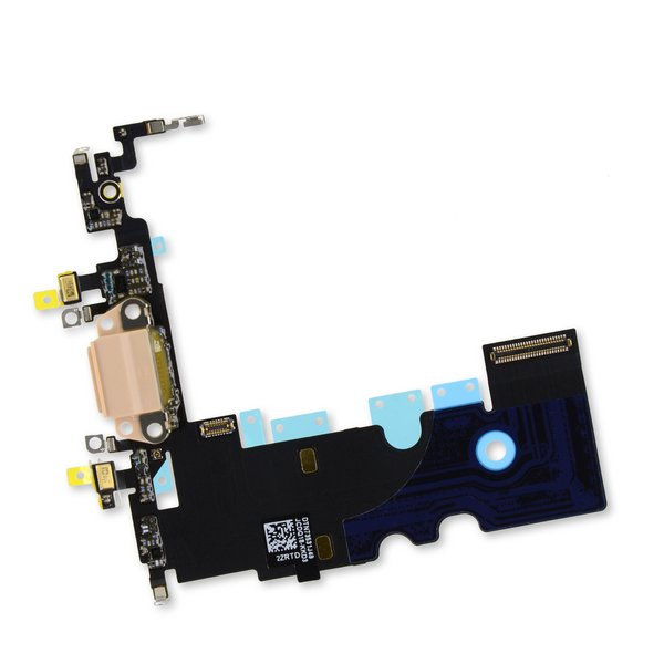 iPhone 8 Lightning Connector Assembly / Gold / Part Only