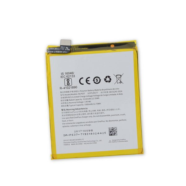 OnePlus 5/5T Replacement Battery / Part Only
