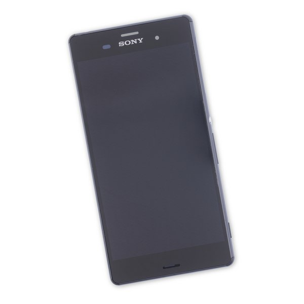 Sony Xperia Z3 Screen Assembly / Black / Part Only