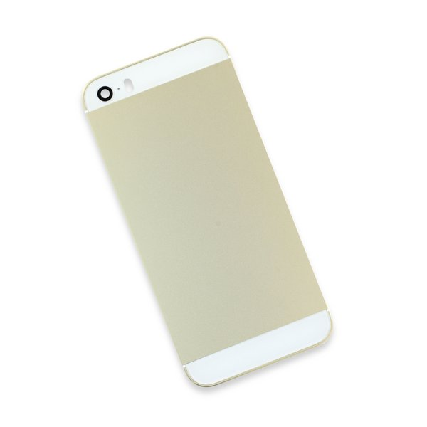 iPhone 5s Blank Rear Case / Gold / Gold