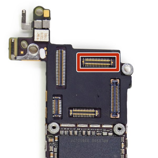 iPhone 5c Rear Camera FPC Connector