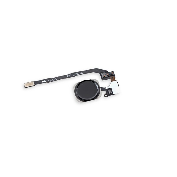 iPhone 5s Home Button Assembly / New / Black / Part Only