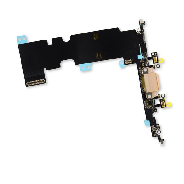iPhone 8 Plus Lightning Connector Assembly / Gold / Part Only