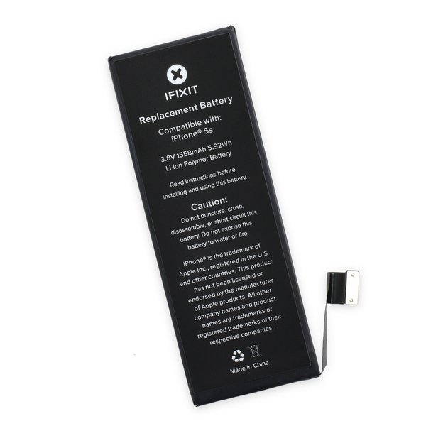 iphone 5s battery replacement iphone 5s replacement battery fix kit ifixit 14746