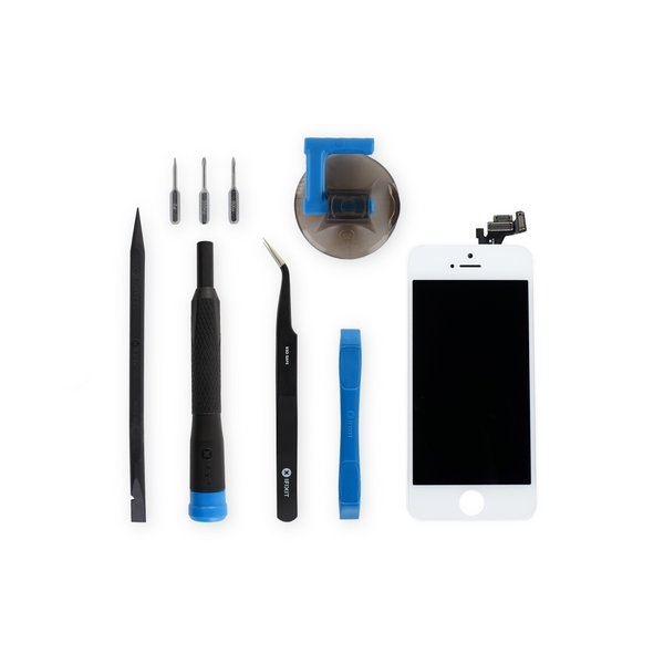 iPhone 5 LCD Screen and Digitizer Full Assembly / New / Fix Kit / White
