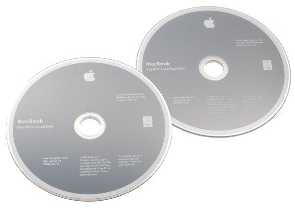 MacBook Unibody (A1342 Late 2009) Restore DVDs