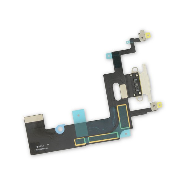 iPhone XR Lightning Connector Assembly / White