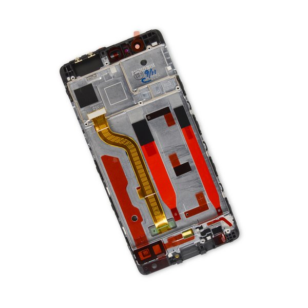 Huawei P9 LCD Screen and Digitizer Assembly / Black / Part Only