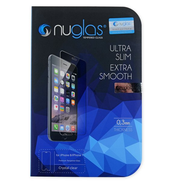 NuGlas Tempered Glass Screen Protector for iPhone 7/8