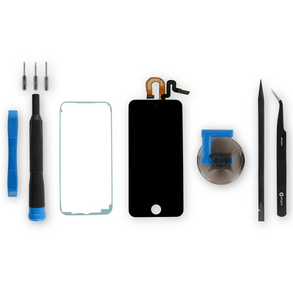 iPod touch (6th Gen) LCD Screen and Digitizer / Fix Kit / Black