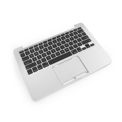 """MacBook Pro 13"""" Retina (Late 2012/Early 2013) Upper Case Assembly"""