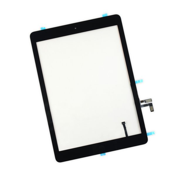 iPad Air Front Glass/Digitizer Touch Panel Full Assembly / New / Part Only / Black