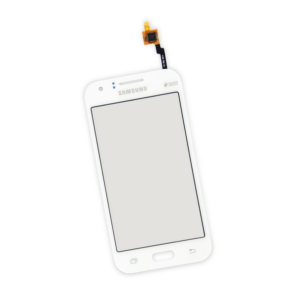 Galaxy J1 (2015) Digitizer Front Panel / White