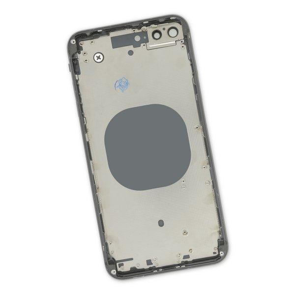 iPhone 8 Plus Aftermarket Blank Rear Case / Black