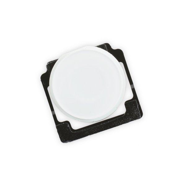 iPad 2/3/4 Home Button with Spring / White