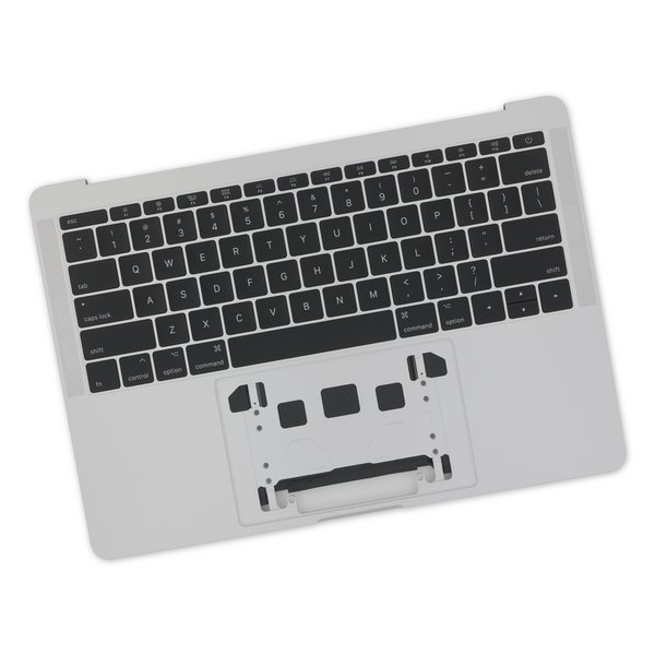 "MacBook Pro 13"" Retina (Function Keys, Late 2016-2017) Upper Case Assembly / A-Stock / Silver / With Battery / No Trackpad"