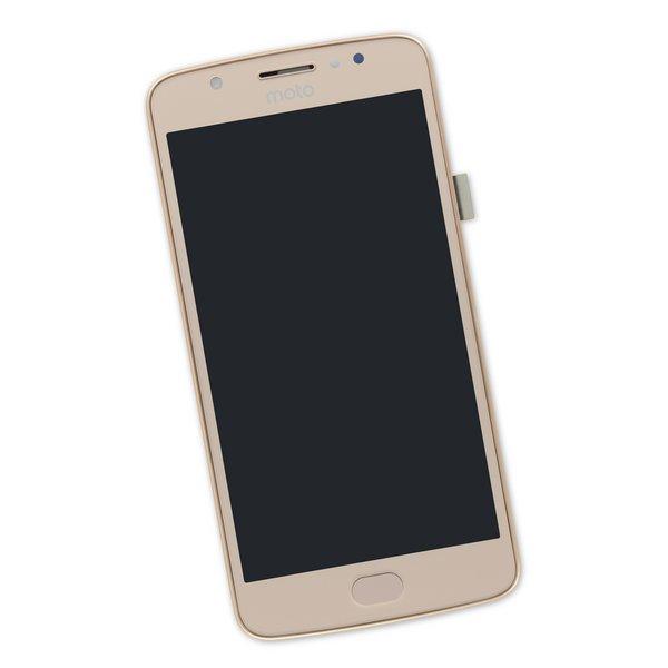 Moto E4 (XT1766) Screen / Gold / Part Only