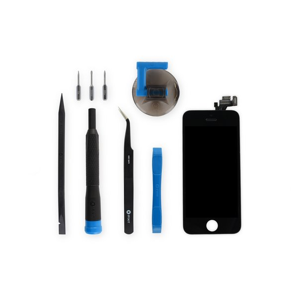 iPhone 5 LCD Screen and Digitizer Full Assembly / New / Fix Kit / Black