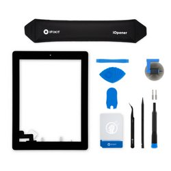 iPad 2 Screen Digitizer Assembly / New / Fix Kit / Black