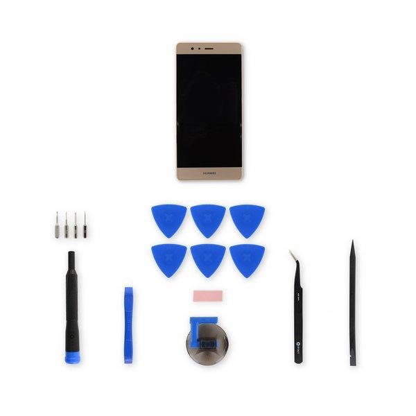 Huawei P9 Screen / Gold / Fix Kit