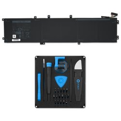 Dell XPS 15 9550 and 5510 Precision 84 Wh Replacement Battery / Fix Kit