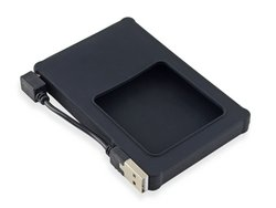 "Silicone 2.5"" Hard Drive Enclosure with USB 2.0 Cable"