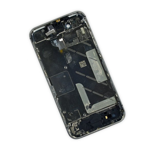 iPhone 4S Display and Midframe Assembly / White / A-Stock