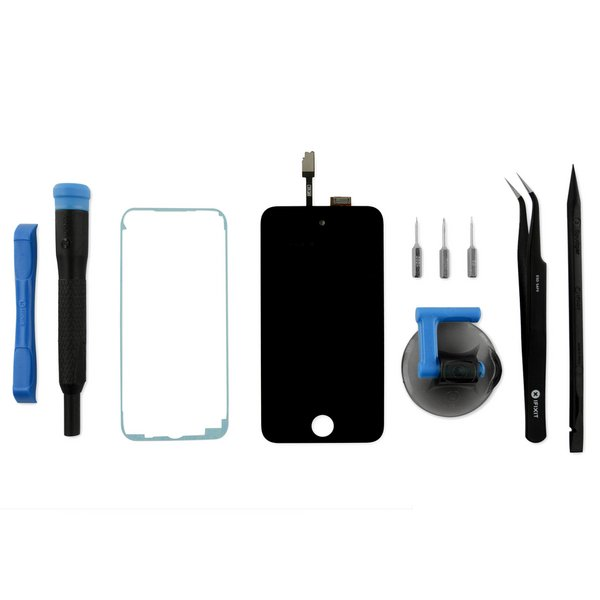 iPod touch (4th Gen) Display Assembly / Fix Kit / Black / New