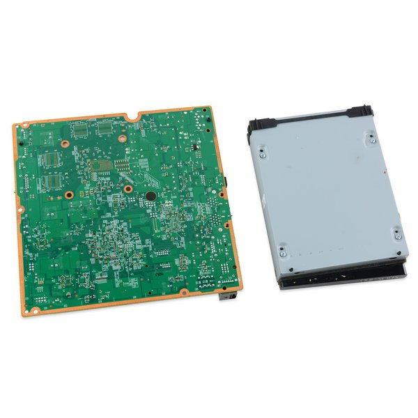 Xbox 360 S Motherboard and Paired Optical Drive / Revision B