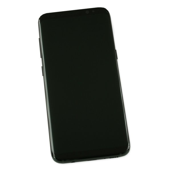 Galaxy S8 Screen and Digitizer Assembly / New / Black